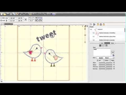 DIGITIZE And Create EMBROIDERY Files - Easily AND For FREE - Tutorial .PES .JPG Etc. | How To ...