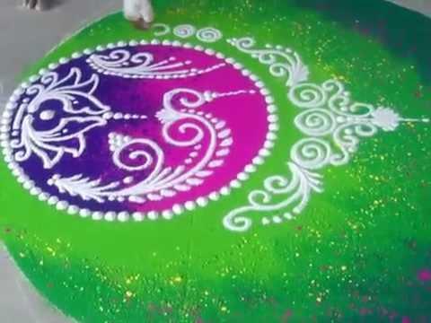 Rangoli Design Diwali Rangoli How to draw Sanskar Bharati Rangoli ...