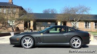 Ferrari 550 Maranello: Ripping the Streets with Larini Exhaust