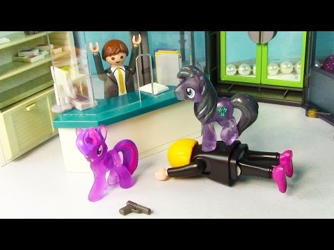 Disney Frozen MLP Bank Robbery Kristoff Prince Hans Princess Anna Twilight Sparkle Doll