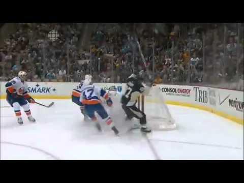 Sidney Crosby Return Goal Vs. Islanders (11/21/11) (video)