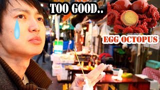 "Quail Egg Octopus!! the one ""Strictly Dumpling"" ate at Kuromon Ichiba Market #126"