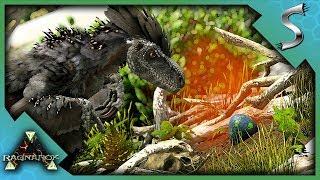 STEALING OUR FIRST DEINONYCHUS EGGS & DEINONYCHUS RAISING! - Ark: Survival Evolved [Cluster E73]