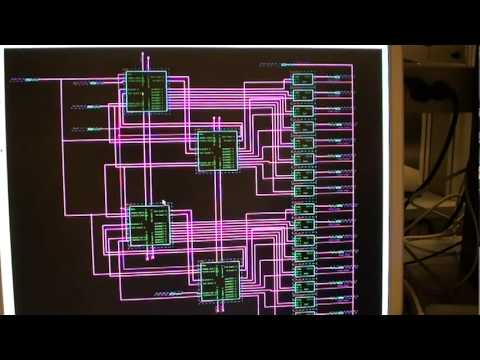FPGA snake game on DE2 with LED matrix and SNES controller