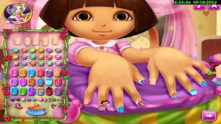 Watch Dora The Explorer Full gameplay video jeugos 4 Children - Nail Spa - Game 2014 Eng HD 1080p