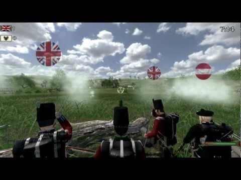 Napoleonic Wars Online: Huge Battle! British & Russian