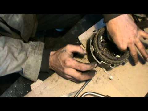 Как заменить подкову на генераторе ваз
