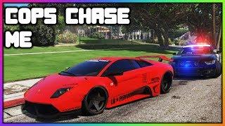 GTA 5 Roleplay - Cops Chase My Stolen Lamborghini | RedlineRP
