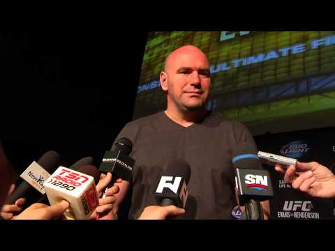 UFC 161 Dana White PreFight Media Scrum