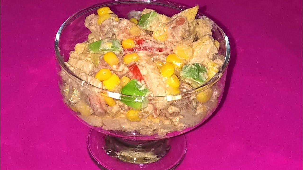 Вкусные салаты с рыбой без майонеза рецепты с