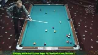 Efren Reyes VS  Earl Strickland The Battle of Legends 5x10 8-Ball Uncut Original