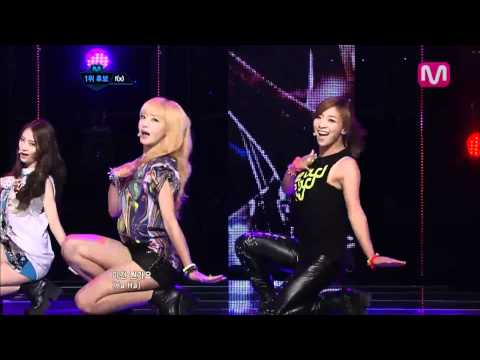 f(x)_Electric Shock(Electric Shock by f(x) @Mcountdown 2012.07.05) Music Videos