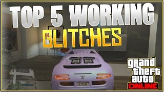 GTA 5 Online: TOP 5 WORKING GLITCHES! *After Patch 1.29/26* | (Best Working Glitches)