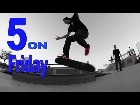 Halfcab Flip Crook - 5 on Friday Rick Molina