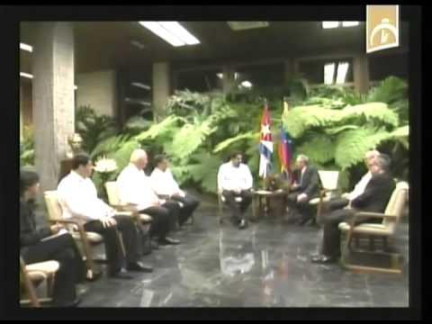 Cuba: Se reúne Raúl Castro con el Presidente de Venezuela, Nicolás Maduro