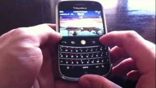 VideoReviev Blackberry BOLD 9000 con BB OS6 (Theme)