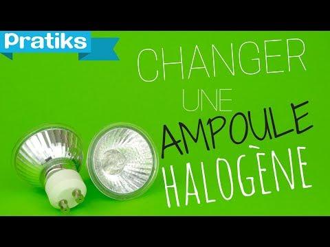 comment changer une ampoule halog ne youtube. Black Bedroom Furniture Sets. Home Design Ideas