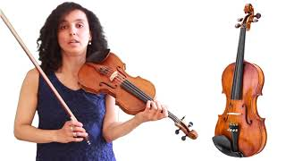 Ek Pyar Ka Nagma Hai | Simple Violin Tutorial With Color Coded Strings