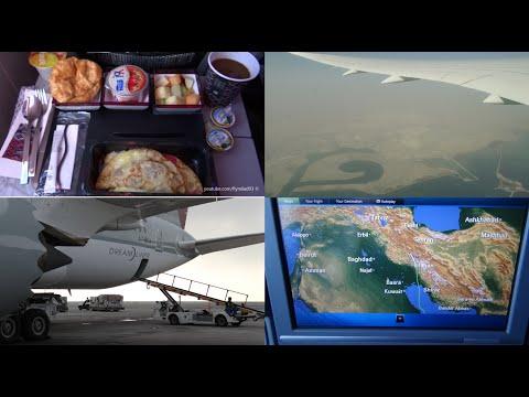 Qatar Airways - 787 Dreamliner Doha to Brussels