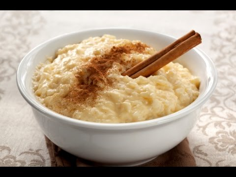 Rice Pudding (Rice Cream Dessert) - RECIPE