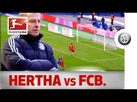 Hertha Berlin Beat Klinsmann's Bayern to Go Top