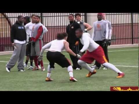 USC 1-on-1 highlights from winter workouts 2/19/13