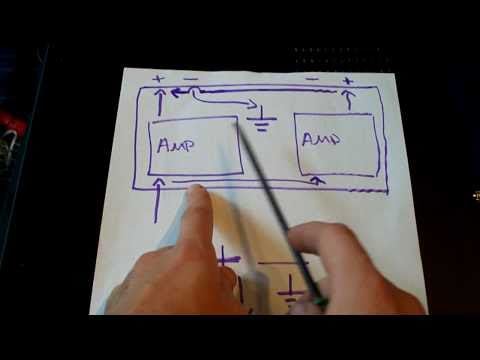 How bridgeable amplifiers work! Bridge / Parallel Mono ~ EXPLANATION