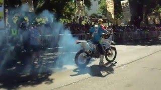 Dakar 2016: burn out all'arrivo