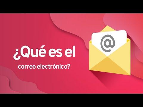 Qué es el correo electrónico