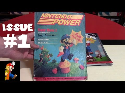Nintendo Power Issue #1 - Quest for the Full Set | Nintendo Collecting