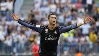 Gol de Cristiano Ronaldo vs Malaga Liga Santander 2017   COPE