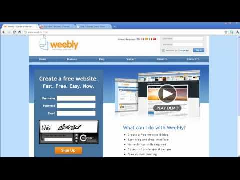 How To Create  A Website For FREE (Part 1)