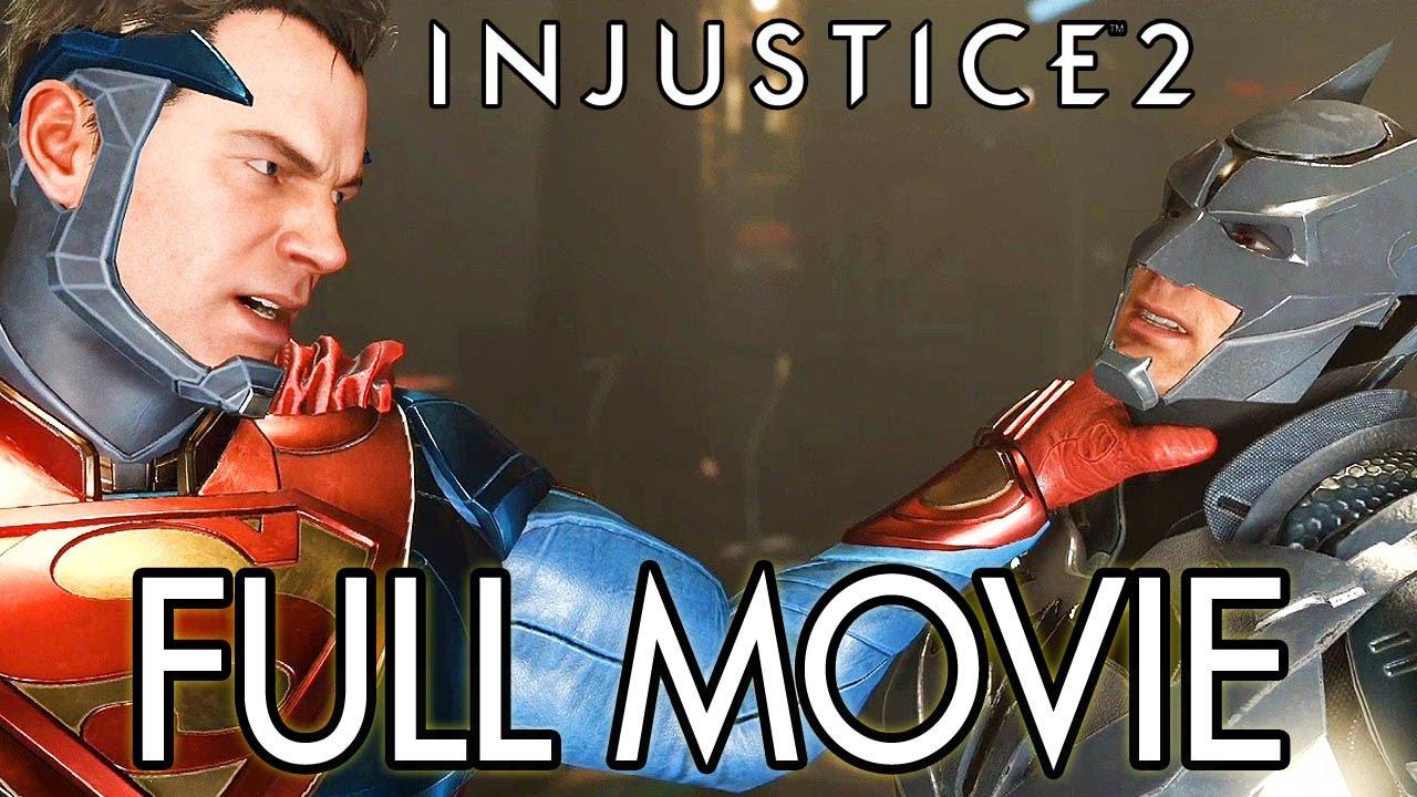 Injustice 2 - FULL GAME MOVIE All Cutscenes @ 1080p HD ✔