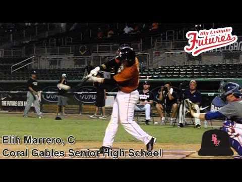 Elih Marrero, C, Coral Gables Senior High School, Swing Mechanics at 200 fps