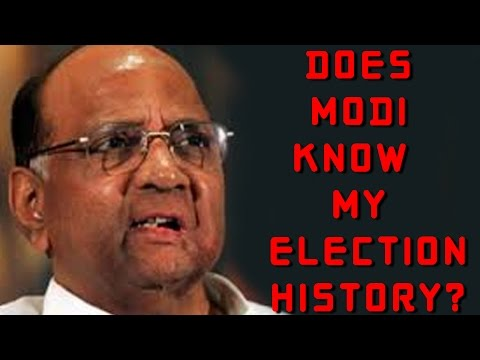 Sharad Pawar hits back at Modi's factually incorrect statement
