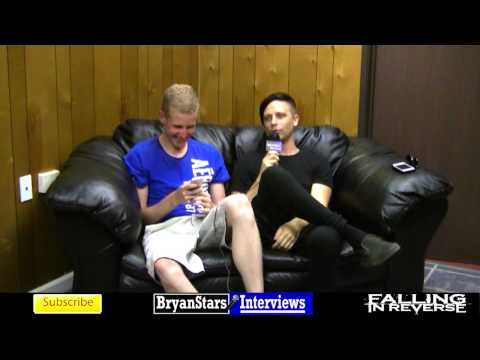 Falling In Reverse Interview #3 Ryan Seaman Warped Tour 2014