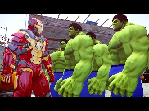 Grand Theft Auto IV - The Incredible HULK Vs Iron Man [MOD] For #GTA4