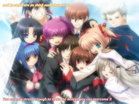Little Busters ex Game op