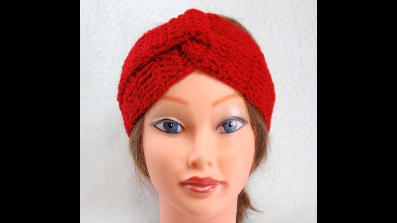 Free Crochet Pattern For Turban Headband : DIY, Crochet Headband Turban, Tutorial, DIY Simple and ...