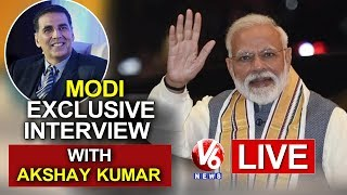 PM Narendra Modi LIVE | Exclusive Interview With Actor Akshay Kumar
