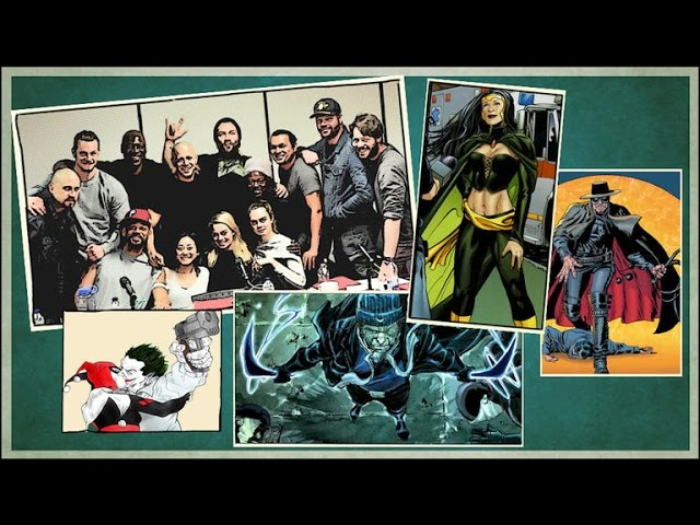 The 'Suicide Squad' movie roll call