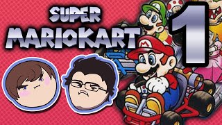 Super Mario Kart: Destroyer of Friendships - PART 1 - Grumpcade (Ft. Markiplier)
