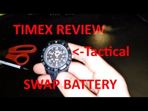 Timex Expedition Replace Watch Battery & Review
