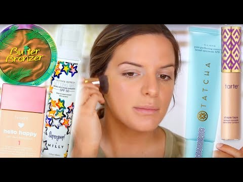 MY GO TO HEAT RESISTANT MAKEUP LOOK & WHATS IN MY LAKE BAG   Casey Holmes