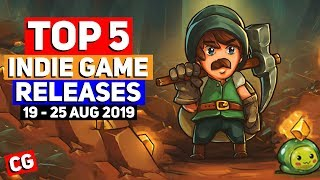 Top 5 BEST NEW Indie Game Releases: 19 - 25 Aug 2019 [Sponsor: Ayo the Clown]