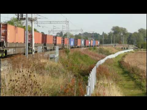 The West Coast Main Line in the October Sun - Class 92's, 90's, 66's and 350's - Part 2
