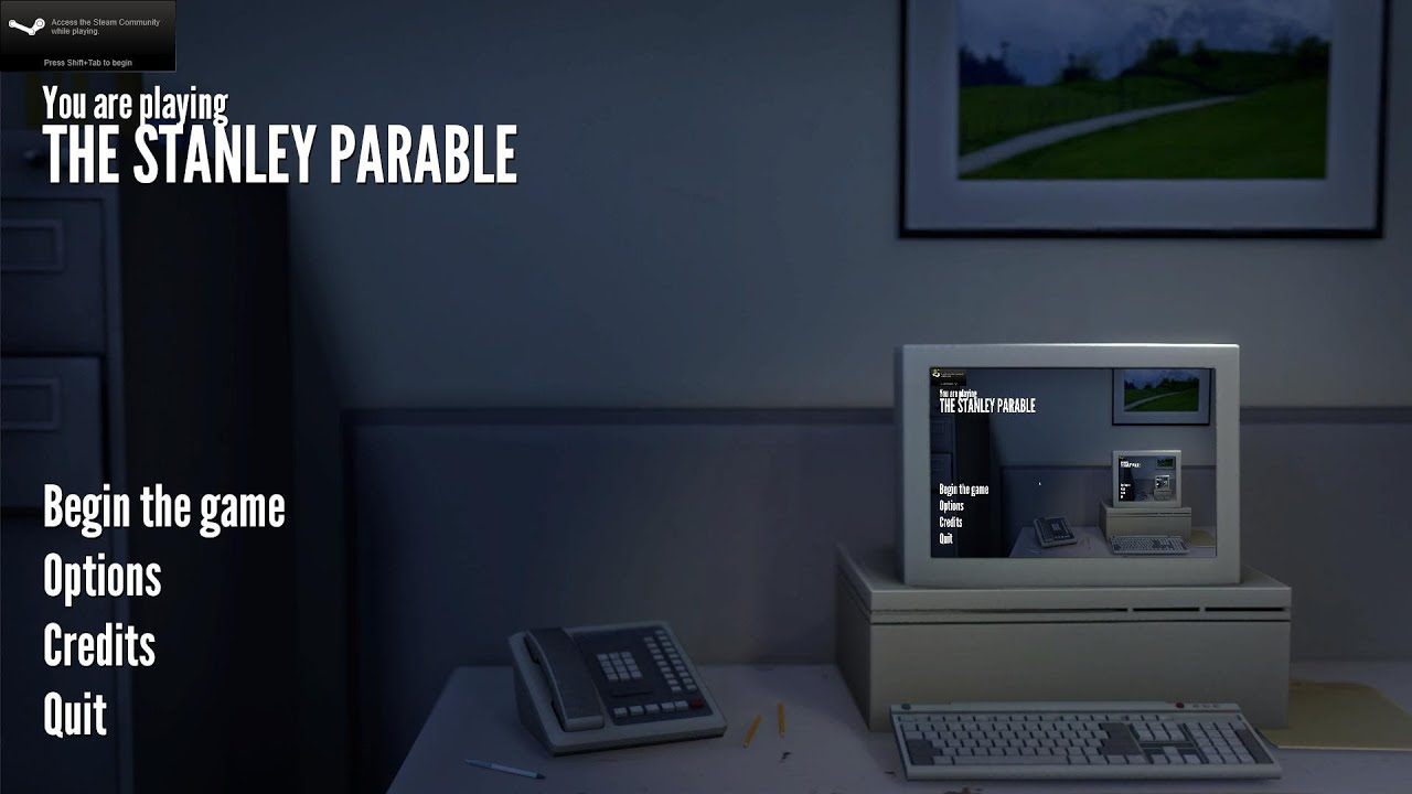Stanley Parable Demo Buttons The Stanley Parable Button