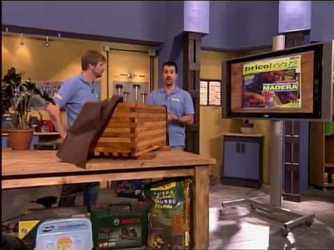 Construye con madera una jardinera youtube - Maceteros de madera ...
