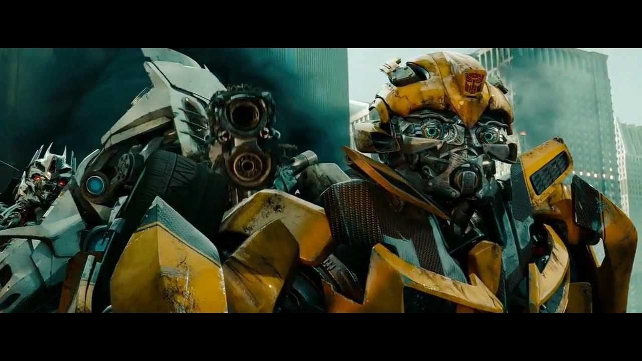 ★transformers Dotm Bumblebee Vs Soundwave Blu Ray Hd