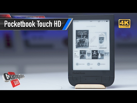 Unboxing: eBook-Reader Pocketbook Touch HD